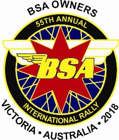 55th BSA Owners International' Rally 2018